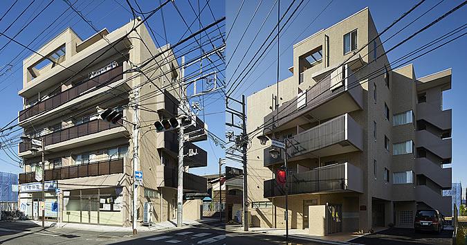 登戸の共同住宅 マンション